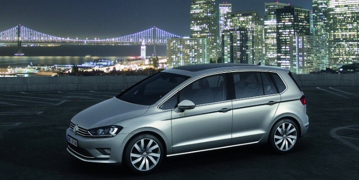 VW Golf Sportsvan Concept Unveiled, Is Actually the Golf Plus [Photo Gallery]