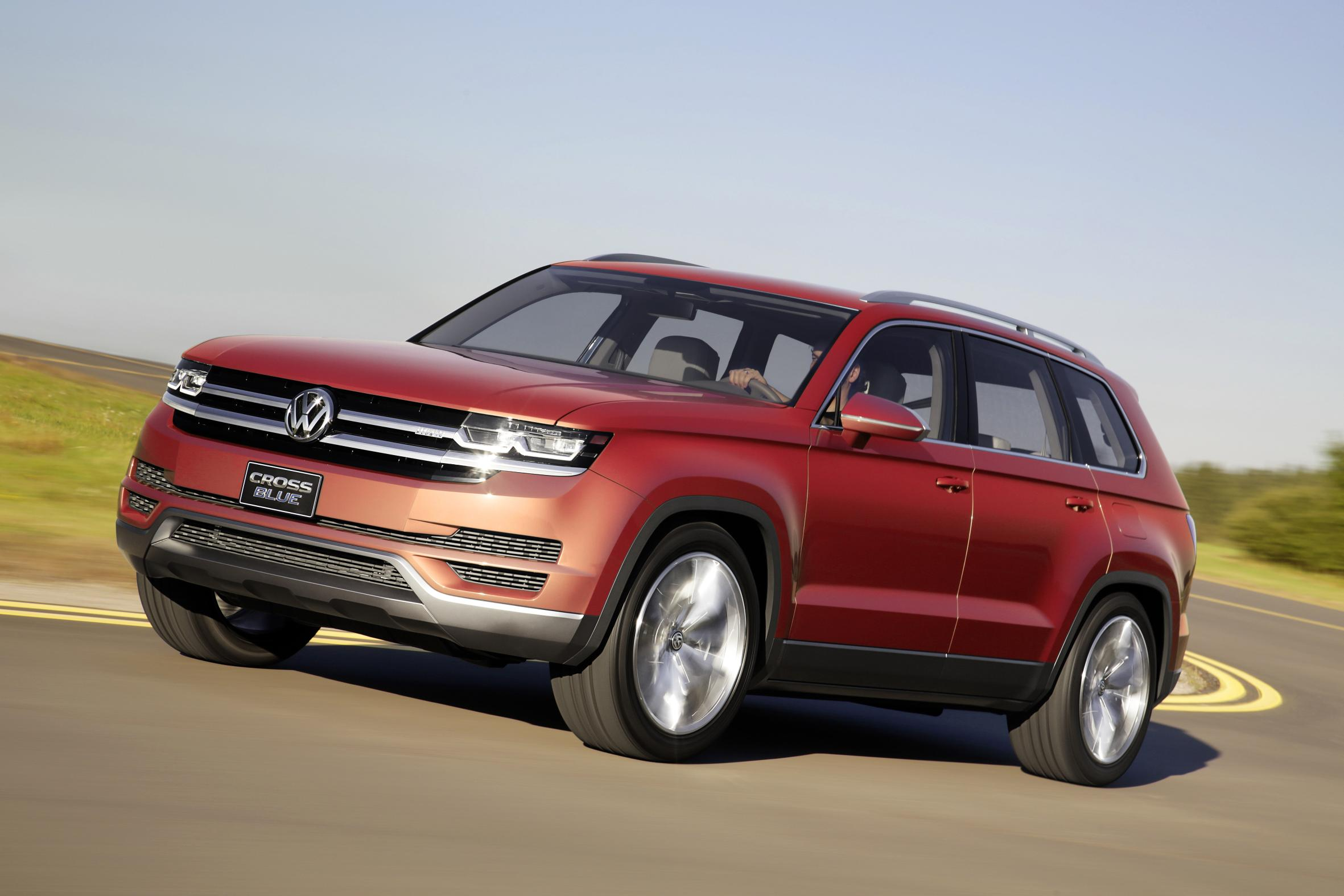 Used Cars Chattanooga >> Volkswagen's New SUV Will Be Named Atlas, German Media Says - autoevolution