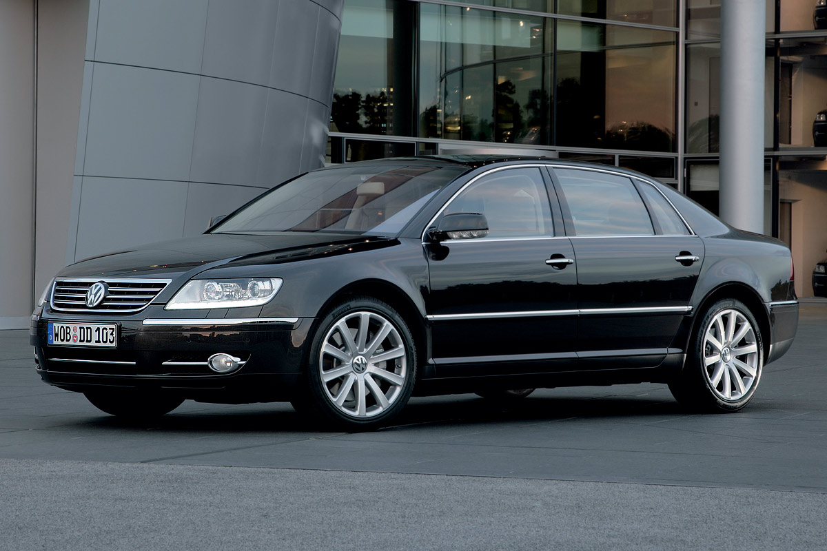 vw phaeton returns to the states autoevolution. Black Bedroom Furniture Sets. Home Design Ideas