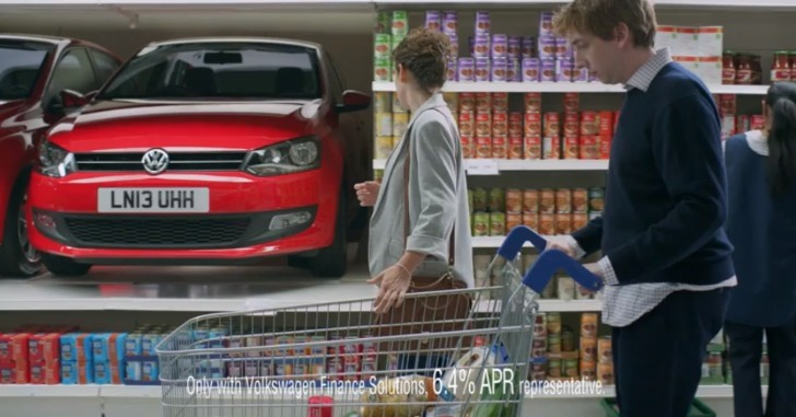 VW Polo Commercial: Like Buying Bread at the Supermarket [Video]