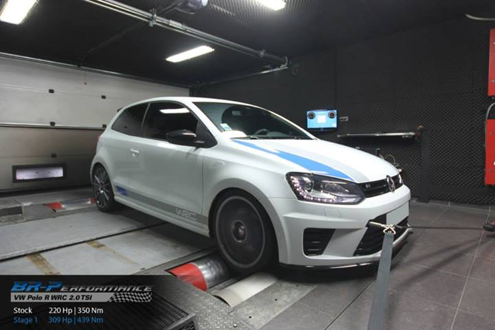 VW Polo R WRC Tuned to 309 HP by BR-Performance - autoevolution