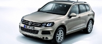 VW Praise New Touareg for Safety