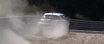 VW Scirocco Has Nasty Encounter with 'Ring Walls [Video]