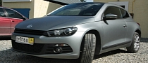 VW Scirocco Matte Wrap: Gray Graphite [Photo Gallery]