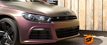 VW Scirocco R - Sparkling Berry Matt Wrap [Photo Gallery]