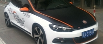 VW Scirocco Tuned in China