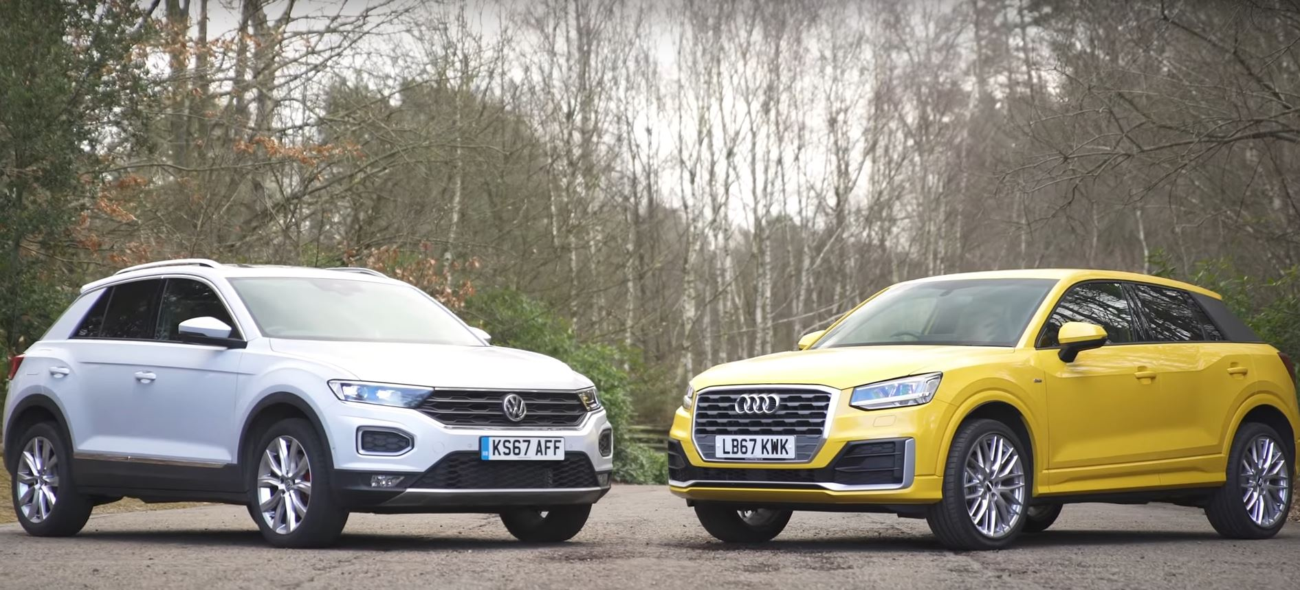 VW TRoc Vs Audi Q Which Is The Nicest Small German SUV - Is audi made by vw