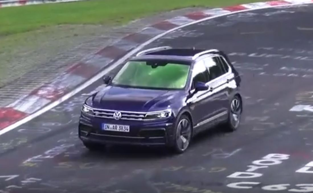 Vw Tiguan R Prototype Has Rs3 Exhaust Sounds Like 25 Liter Turbo