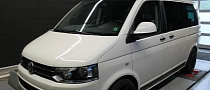 VW Transporter T5 2.0 TDI Tuned by mcchip-dkr