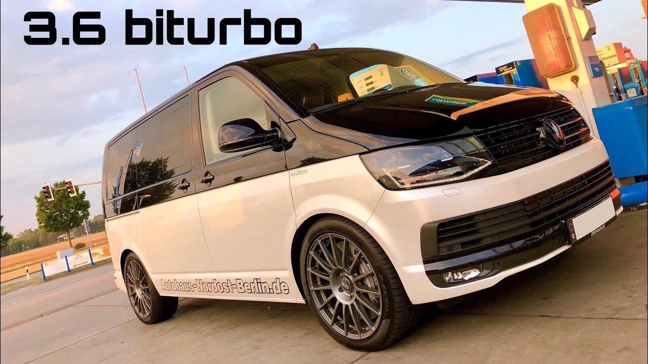 HGP Volkswagen Multivan T5 3.6 V6 biturbo - Chuťovka pre vodičov náročných na počet pasažierov a rýchlosť!
