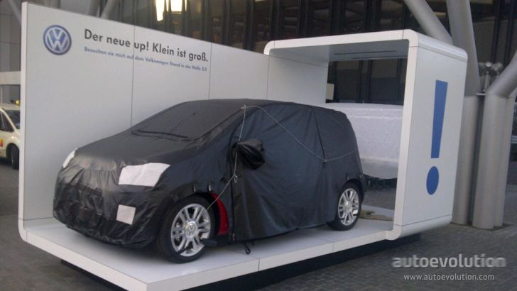 VW Up Invades City of Frankfurt [Live Photos]