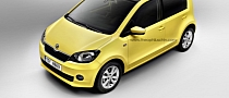 VW Up! / Skoda Citigo / SEAT Mii Convertible Rendered