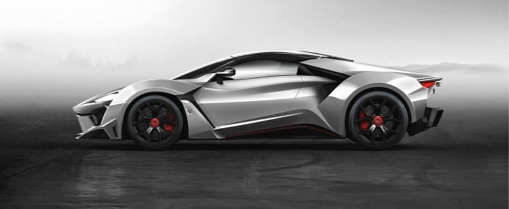 W motors fenyr supersport is the middle east 39 s idea of a for K and w motors