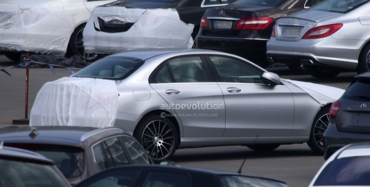W205 mercedes benz c class pretty much uncovered for How much mercedes benz