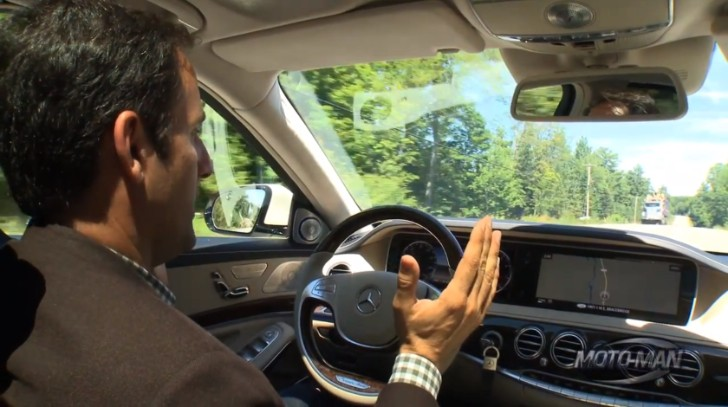 W222 S-Class Gets Reviewed by MotoManTV (Video)