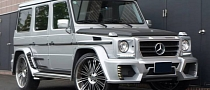 Wald G55 AMG Black Bison on Renovatio Wheels