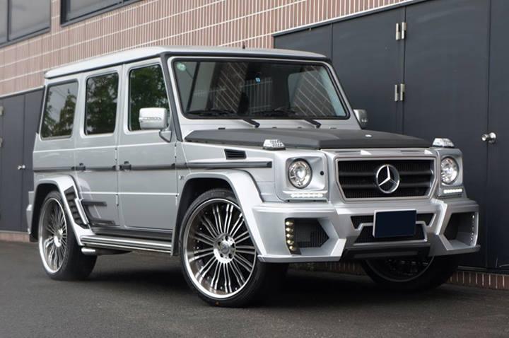 Для внедорожника MercedesAMG G63 подготовили широкий