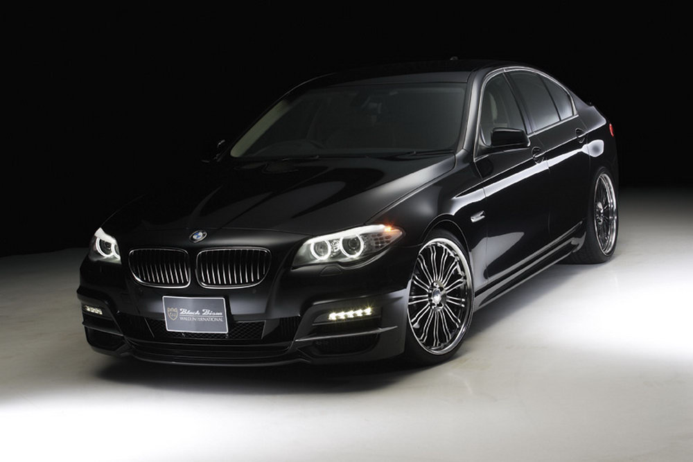 Wald International Gives Bmw 5 Series The Black Bison Look