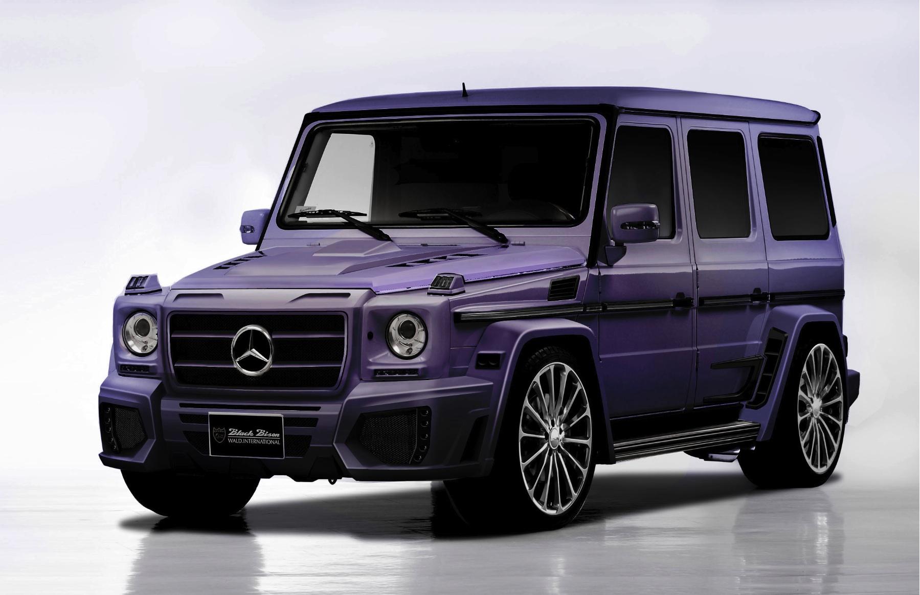 Wald international mercedes g55 amg black bison for 2012 sema for Mercedes benz us international