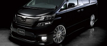 Wald International Releases Toyota Vellfire Z Grade Executive Line