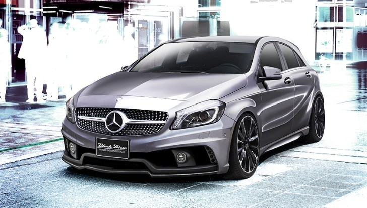 Wald International Teases A-Class W176 Black Bison Bodykit