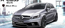 WALD International Teases Black Bison Mercedes A-Class Body Kit