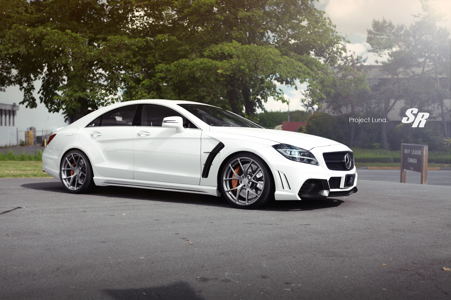 Wald Mercedes Cls63 Amg Touched By Sr Auto Autoevolution 2008 Benz Cls 550 Wide Kit