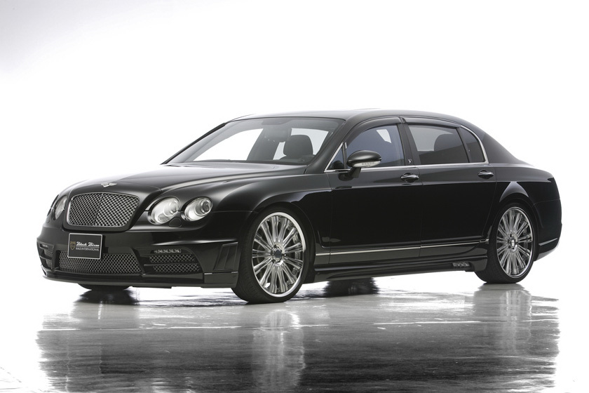 Wald Presents The Bentley Continental Flying Spur Black Bison