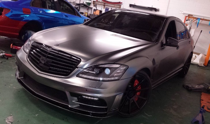 Wald S 63 AMG Black Bison in Frozen Black by DBX [Video][Photo Gallery]