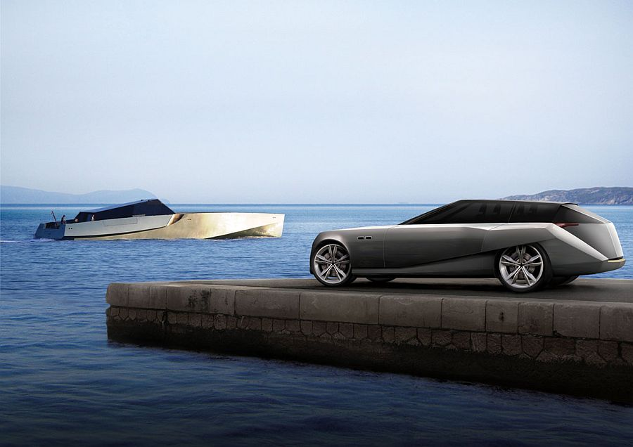 Wally Supercar Concept For The Why Yacht Autoevolution