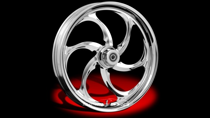 WanaRyd Reactor Custom Chrome Wheels for Harleys and More