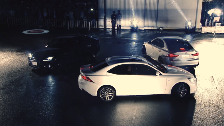 Watch a 2014 Lexus IS Performance Show [Video]