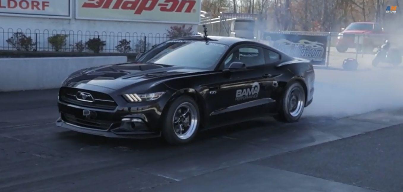 world 39 s fastest 2015 ford mustang gt pulls 9s quarter mile autoevolution. Black Bedroom Furniture Sets. Home Design Ideas