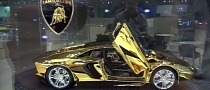 Watch a $350,000 Gold and Platinum Aventador Scale Model in Dubai [Video]