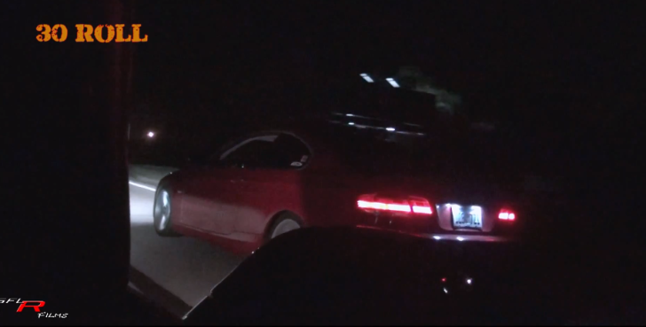 Watch a BMW 335i Keep Up with a Corvette C6 [Video]