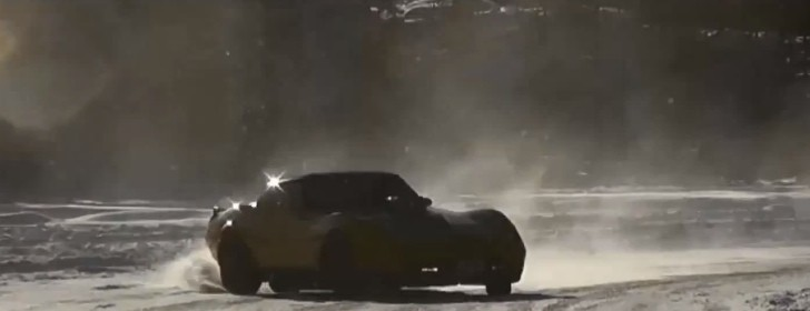 Watch a Corvette Stingray Spin on Ice [Video]