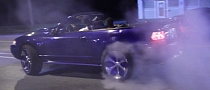 Watch a Ford Mustang Donk Doing Donuts [Video]