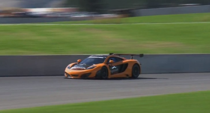 Watch a McLaren MP4-12C GT3 Set A Lap Record in New Zealand [Video]