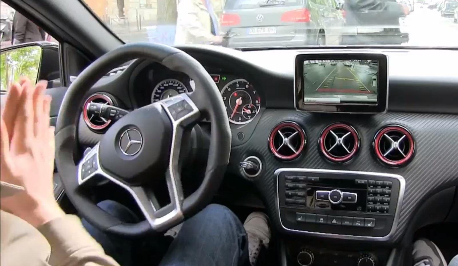 Park Assist Mercedes Classe A