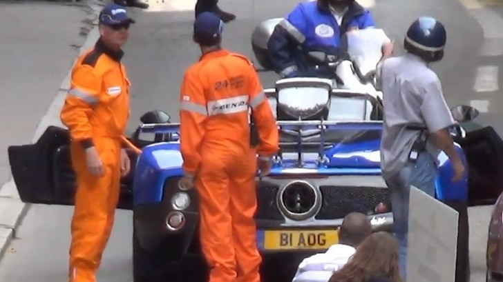 Watch a Pagani Zonda One-Off Break Down [Video]