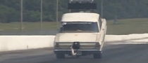 Watch a Rusty 1100 HP Chevy Nova Pull a 400 ft Wheel Stand [Video]