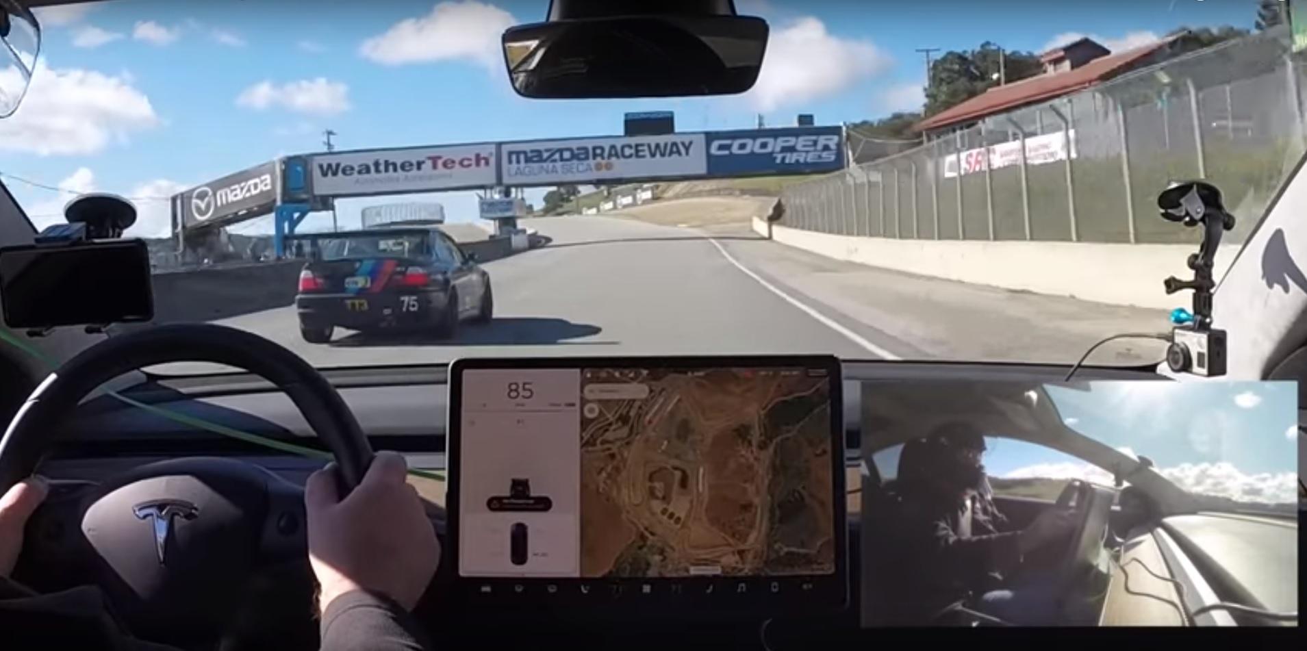 Image result for model 3 track mode