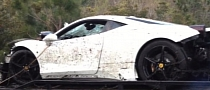 Watch a Twin-Turbo Ferrari 458 before and after Being Totaled [Video]