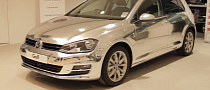 Watch a VW Golf 7 Get Wrapped in Chrome [Video]