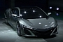 Watch Acura NSX Concept Detroit Unveiling Video