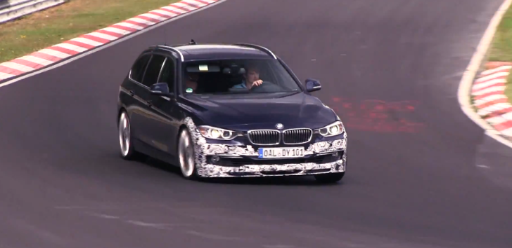 Watch Alpina Testing the B3 Touring and Sedan on the Nurburgring [Video]