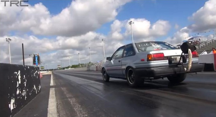 Watch An 8-Second Toyota AE 86 [Video]