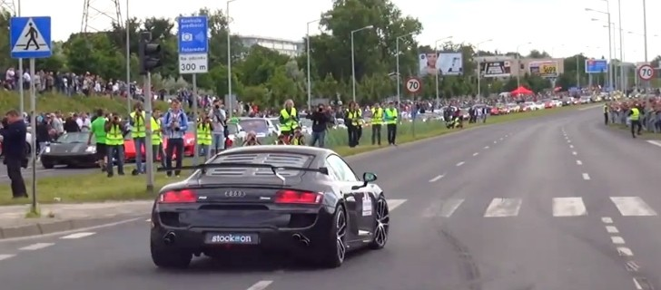 Watch an Audi R8 Not Crash into People like a Koenigsegg CCR [Video]