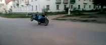Watch and Learn: High-Speed Sidecar Trick Goes Very Wrong [Video]
