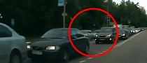 Watch and Learn: Inexperienced Rider Fails to Anticipate Incoming Car [Video]